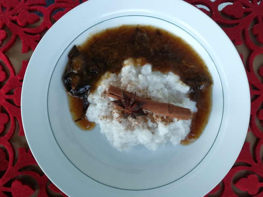 maidoton riisipuuro