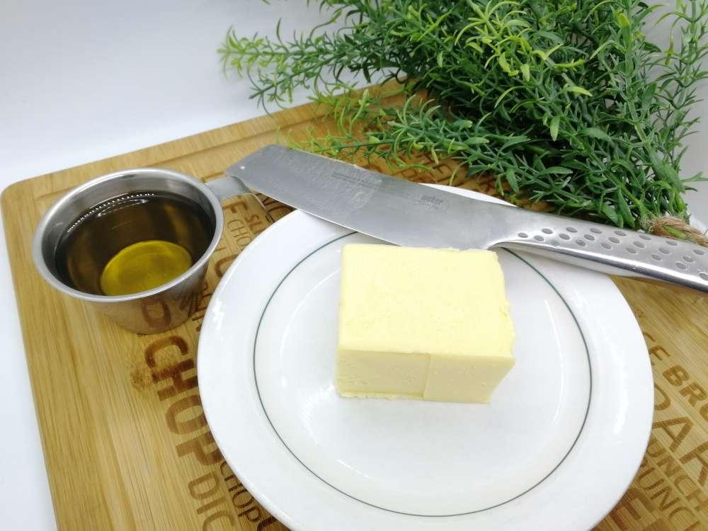 Itse tehty margariini – kaksi raaka-ainetta
