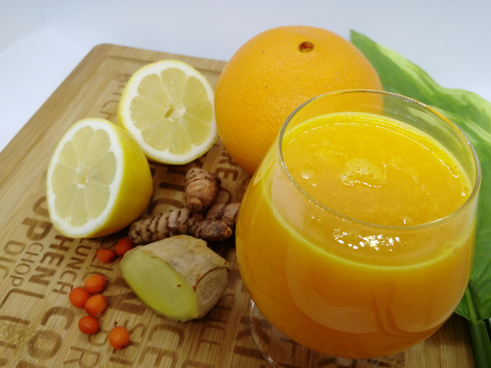 Flunssan hoito luonnollisella ja maukkaalla flunssadrinkillä